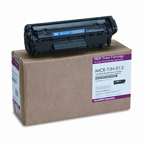 MicroMICR Corporation MICR Toner for LJ 1010, 1012, 1015,1018, 1020, 1022, Equivalent to HEW-Q2612A