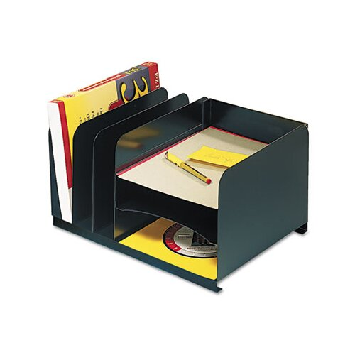 MMF Industries Steelmaster Vertical/Horizontal Combo Organizer