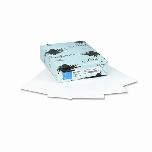 Mohawk Fine Papers 25% Cotton Business Stationery Paper, 24 Lbs., 8-1/2 X 11, 500/Ream