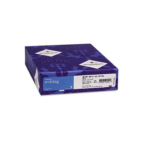 Mohawk Fine Papers 25% Cotton Business Stationery Paper, 24 Lbs., 500/Ream