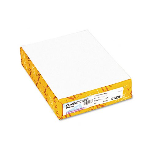Neenah Paper Classic Crest Stationery Writing Paper, 500/Ream