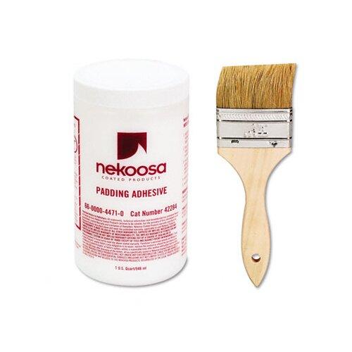 NEKOOSA COATED PRODUCTS LLC Fan-Out Padding Adhesive