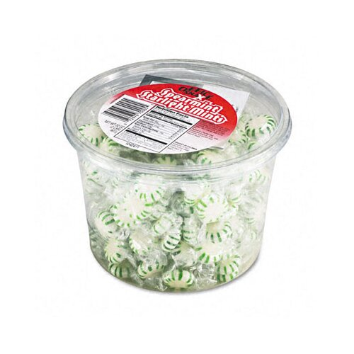 Office Snax Starlight Spearmint Hard Candy Tub