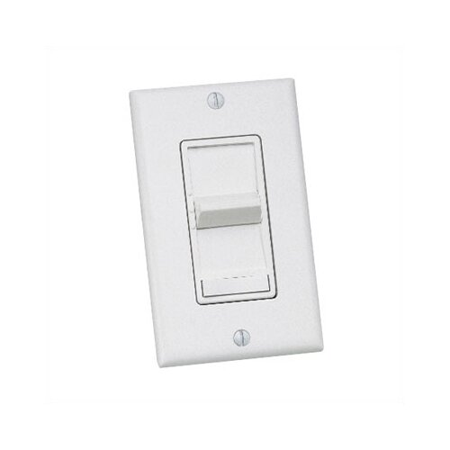 Three Speed Slide Ceiling Fan Wall Control with Preset On-Off