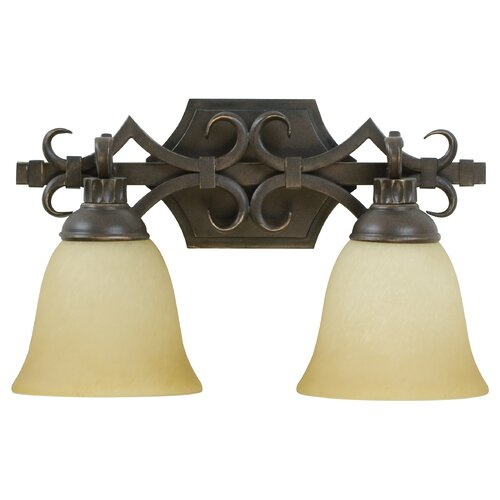 Craftmade Florence 2 Light Bath Vanity Light