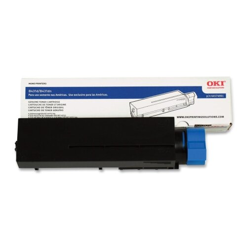 OKI Toner Cartridge, 10,000 Page-Yield