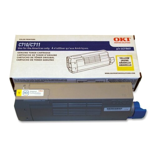OKI Toner Cartridge, 11,500 Page-Yield