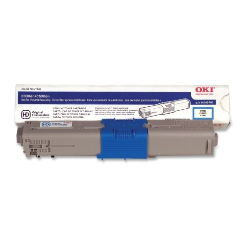 OKI Toner Cartridge, 3,000 Page-Yield