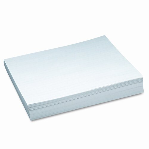Pacon Corporation Skip-A-Line Ruled Newsprint Paper, 30 Lbs., 11 X 8-1/2, 500 Sheets/Pack
