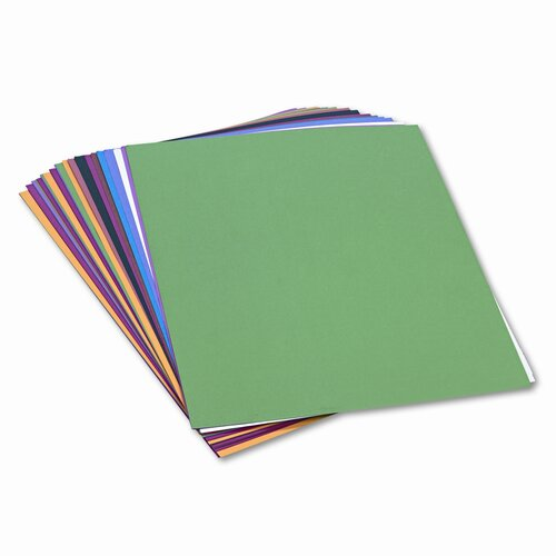 SunWorks® Construction Paper, 58 Lbs., 18 X 24, 50 Sheets