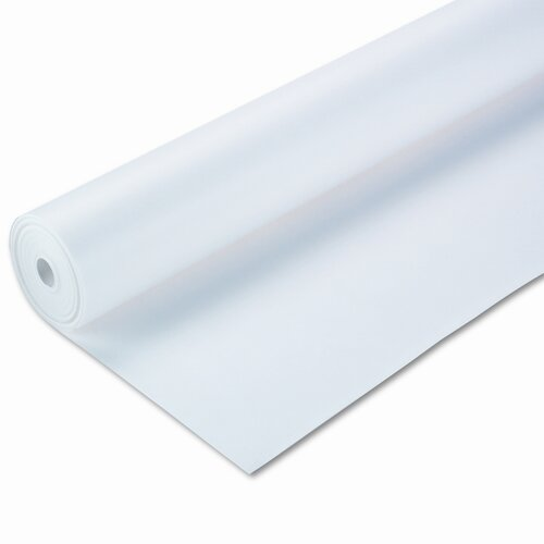 "Pacon Corporation Spectra ArtKraft Duo-Finish Paper, Heavyweight, 48"" x 200' Roll, White"