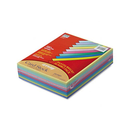 Pacon Corporation Array Card Stock, 65 Lbs., 250 Sheets/Pack