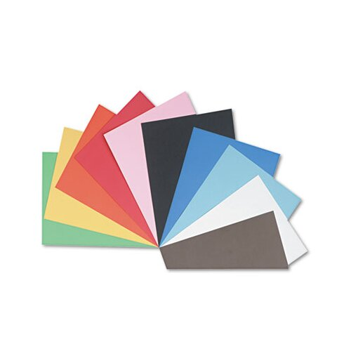 Pacon Corporation Tru-Ray Construction Paper, Sulphite, 18 x 24, Assorted, 50 Sheets