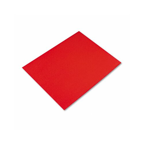 Pacon Corporation Colored Four-Ply Poster Board, 28 x 22, Red, 25 per Carton