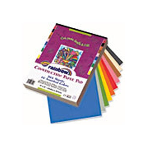 Pacon Corporation Construction Paper Assorted 12x18 100 Sheets