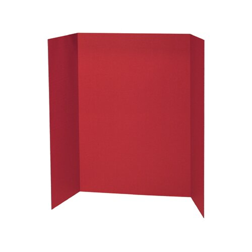 Pacon Corporation Red Presentation Brd 48x36