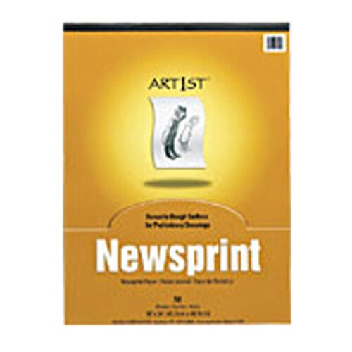 Pacon Corporation Art1st Newsprint Pad 18x24 50 Sht
