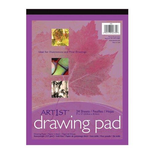 Pacon Corporation Art1st Drawing Pad 9x12 24 Sht Wht