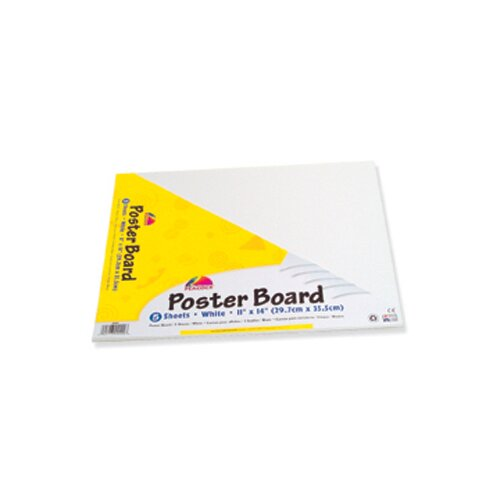 Pacon Corporation Peacock Poster Board Packs