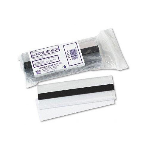 Panter Magnetic Label Holder, Side Load, 6 X 2, 10/Pack