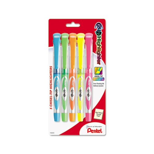 Pentel of America, Ltd. 24/7 Highlighter