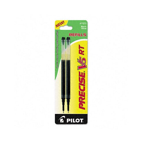 Pilot Pen Corporation of America Refill for Precise V5 Rt Rolling Ball, Extra Fine, 2/Pack