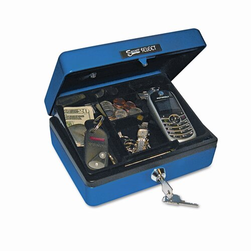 PM Company Securit Select Personal-Size Cash Box
