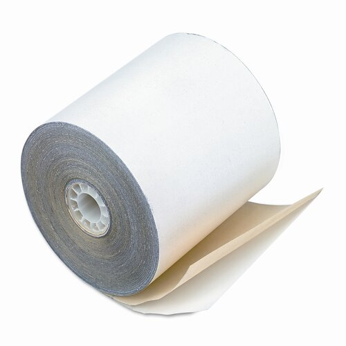 2-Ply Printer Roll for Verifone 420/460, 2-1/4