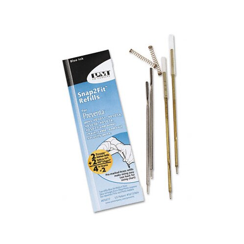 PM Company Refills for Preventa, Mmf Kable and Sentry Counter Pens, 2/Pack
