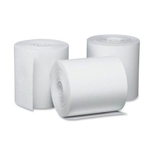 Single-Ply Thermal Cash Register / Pos Roll, 3-1/8