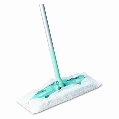 Procter & Gamble Commercial Swiffer Sweeper 10 Wide Mop, Green