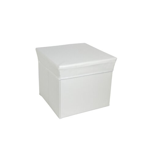 Square Storage Box Stool