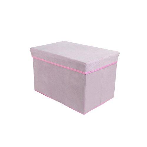 Tadpoles Rectangle Storage Box Stool