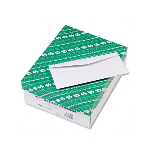 Quality Park Products Security Tinted Business Envelope, Traditional, #10, White, 500/box