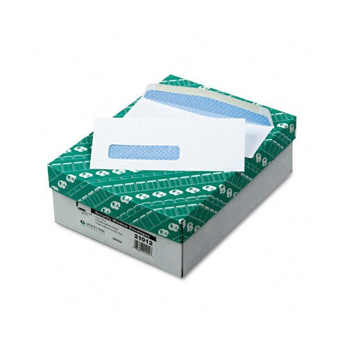 Quality Park Products Window Envelope, Address Window, 500/Box