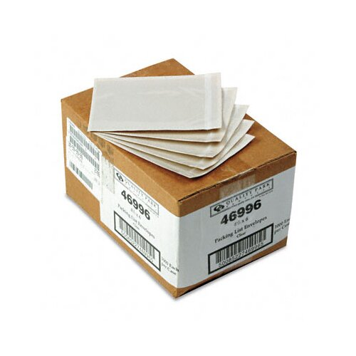 Quality Park Products Front Self-Adhesive Packing List Envelope, 1000/Box