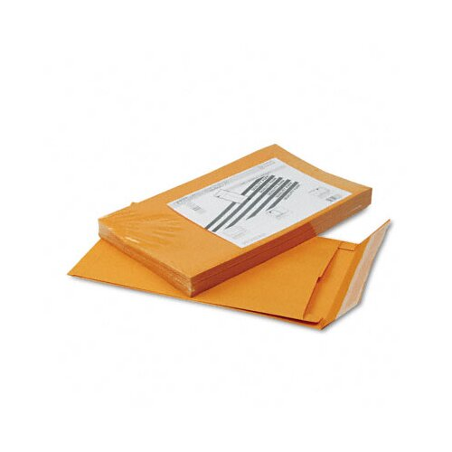 Quality Park Products Redi-Strip Kraft Expansion Envelope, Side Seam, 10 x 15 x 2, Brown, 25/pack