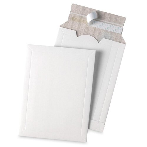"Quality Park Products Mailing Envelope, Foam Lined, 2"" Exp, 10""x13"", White"