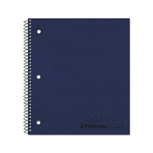 Rediform Office Products Three-Subject Notebook, College/Margin Rule, 8-7/8 x 11, WE, 120 Sheets