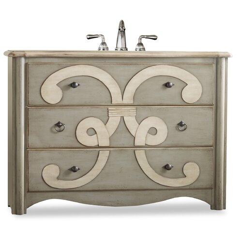"Cole + Company Designer Chamberlain 48"" Sink Chest Vanity Set"
