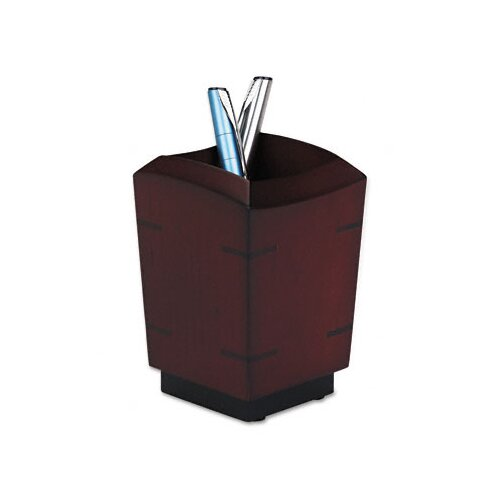 Rolodex Corporation Executive Woodline II Pencil Cup