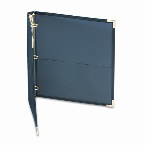 Samsill Corporation Classic Collection Ring Binder Portfolio, 8-1/2 x 11, 1in Capacity