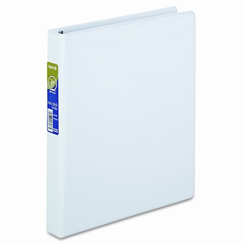 Samsill Corporation Round Ring Poly View Binder