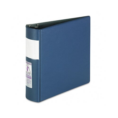 "Samsill Corporation Top Performance Dxl Locking Binder with Label Holder, 4"" Capacity"