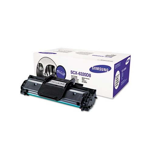 Samsung SCX6320D8 Toner, 8000 Page-Yield