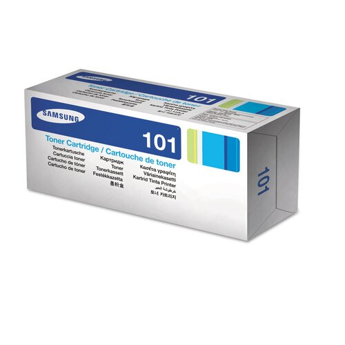 Samsung D101S Laser Toner Cartridge, 1500 Page Yield, Black