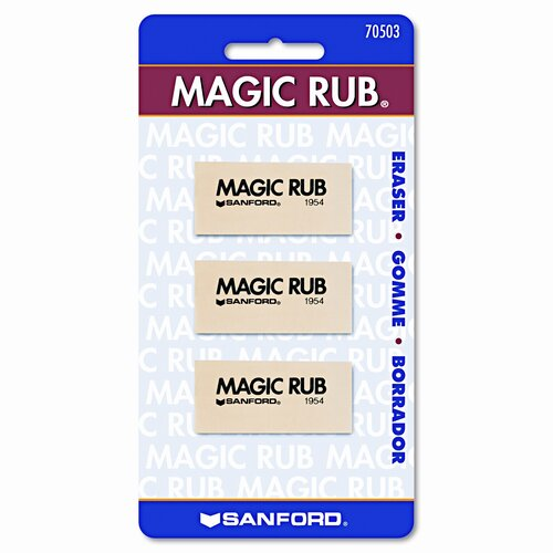 Sanford Ink Corporation Prismacolor Magic Rub Art Eraser, 3/Pack