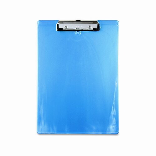 "Saunders Manufacturing Plastic Clipboard, 1/2"" Capacity"