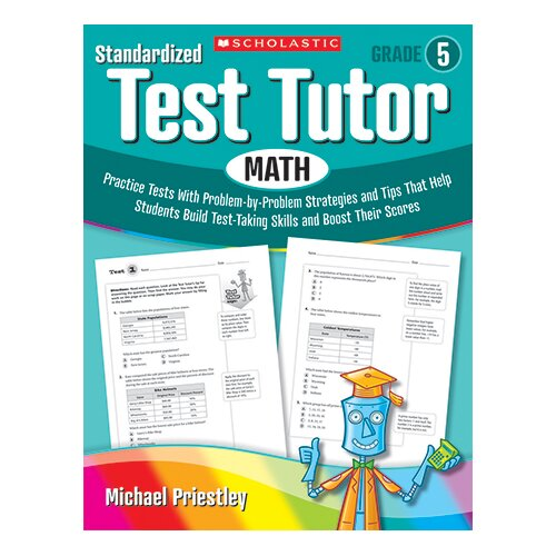 Scholastic Standardized Test Tutor Math Gr 5