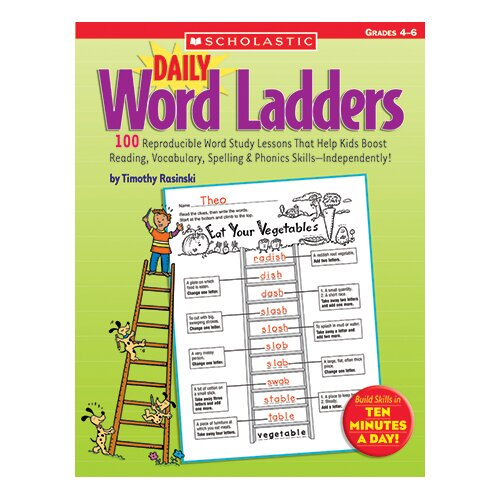 Scholastic Daily Word Ladders Gr 4-6